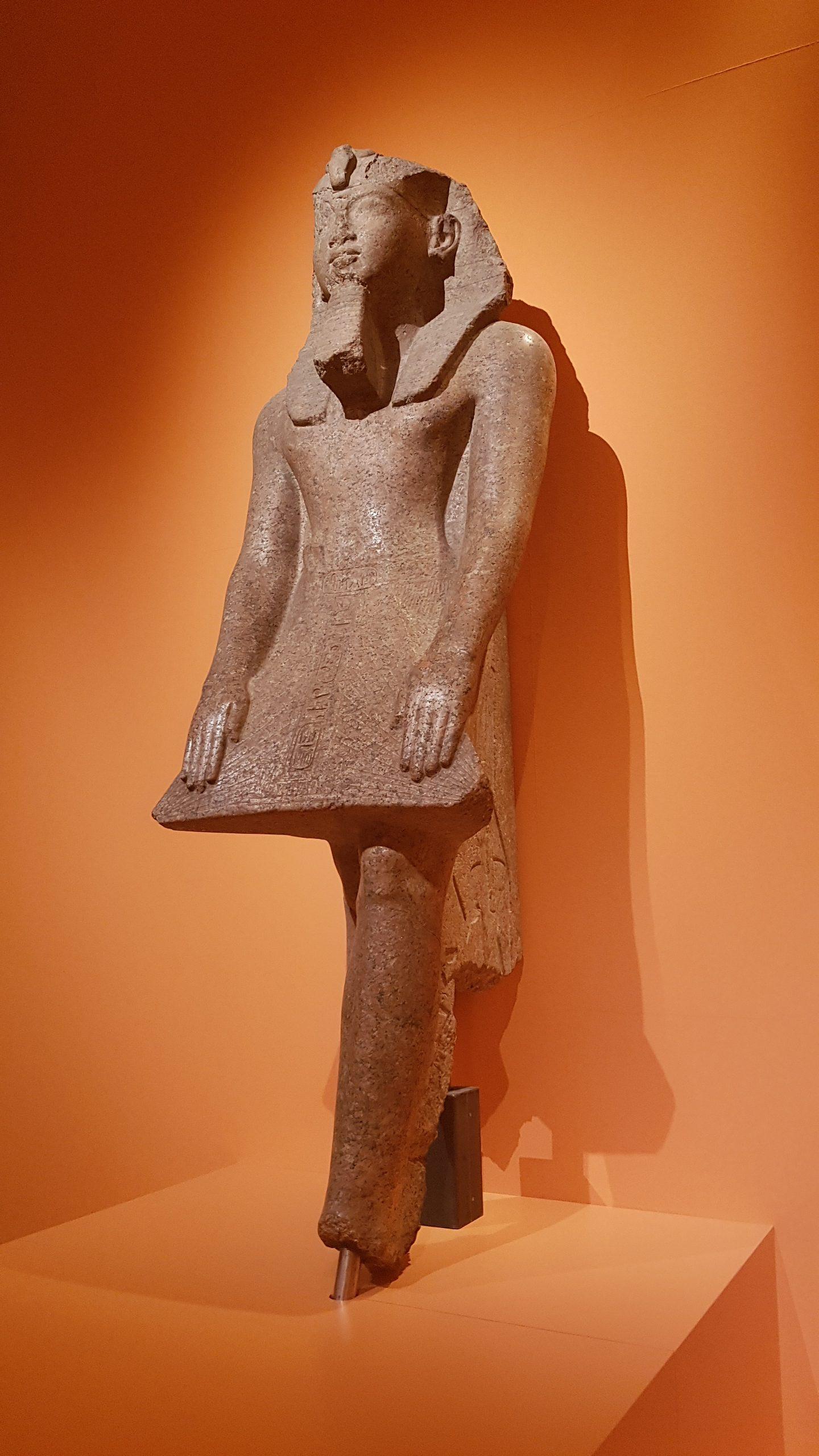 Ramses II. betend